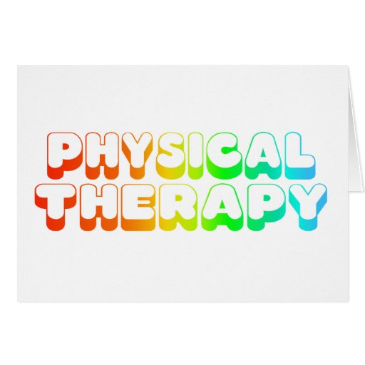 Rainbow Physical Therapy Card
