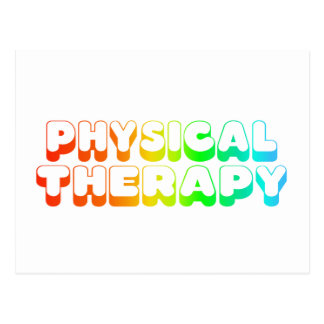 Rainbow Physical Therapy Postcard