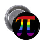 Rainbow Pi Pinback Button