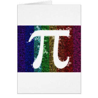 Rainbow Pi Sign Card