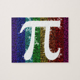 Rainbow Pi Sign Puzzle