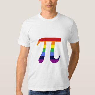 rainbow pi t shirt