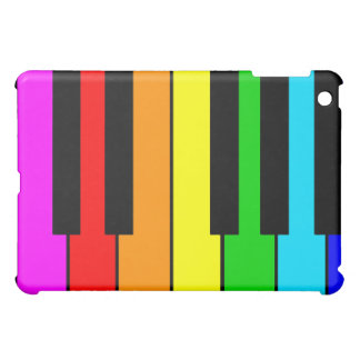 Rainbow Piano Case For The iPad Mini