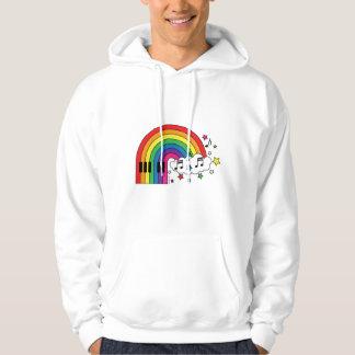 Rainbow Piano Hoodie