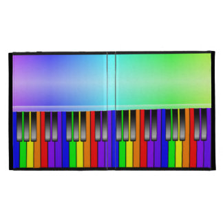 Rainbow Piano Keyboard iPad Case