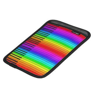 Rainbow Piano Keyboard iPad Mini Sleeve