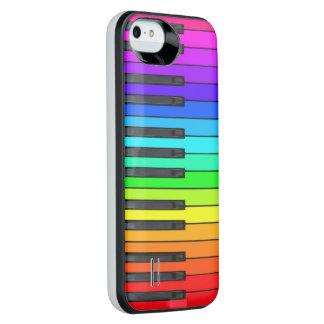 Rainbow Piano Keyboard iPhone 5/5s Case