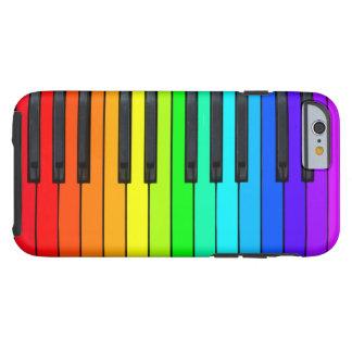 Rainbow Piano Keyboard iPhone 6 Case
