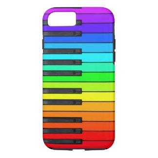 Rainbow Piano Keyboard iPhone 7 Case