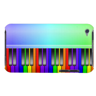 Rainbow Piano Keyboard iPod Touch Case-Mate Case