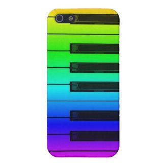 Rainbow Piano Keyboard Keys iPhone 4/4S Speck Case