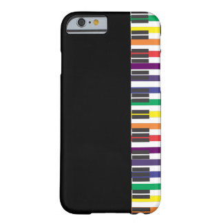 Rainbow Piano Keys Barely There iPhone 6 Case