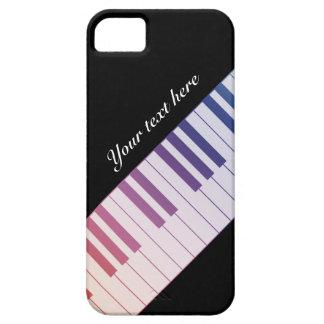 Rainbow Piano Keys iPhone 5 iPhone SE/5/5s Case
