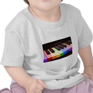 Rainbow Piano Tshirt
