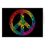 Rainbow Pieces of Peace Card