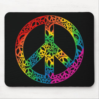 Rainbow Pieces of Peace Mouse Pad