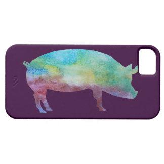 Rainbow Pig iPhone SE/5/5s Case