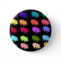 Rainbow Pigs Button