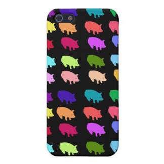 Rainbow Pigs Cover For iPhone SE/5/5s