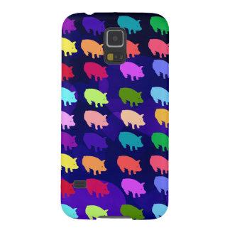 Rainbow Pigs Galaxy S5 Case