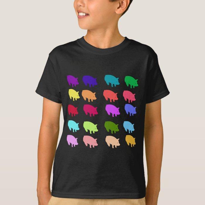 Rainbow Pigs T-Shirt