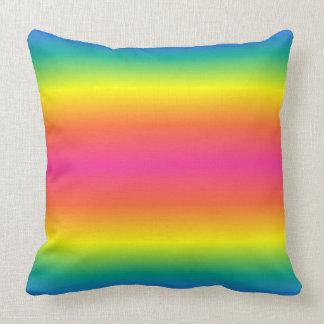 Rainbow Throw Pillows