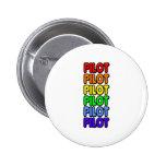 Rainbow Pilot Buttons