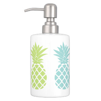 Rainbow Pineapples Bath Set