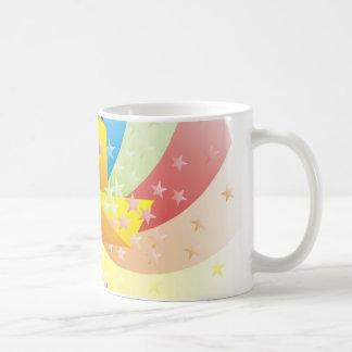 Rainbow Pinwheel Mug