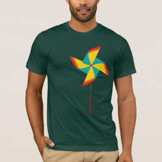 rainbow pinwheel T-Shirt