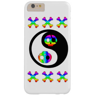 Rainbow Pirate Yin Yang Barely There iPhone 6 Plus Case