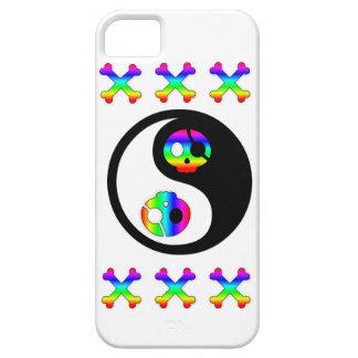 Rainbow Pirate Yin Yang iphone 5 case