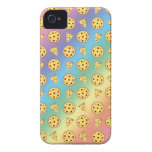 Rainbow pizza pattern iPhone 4 cover