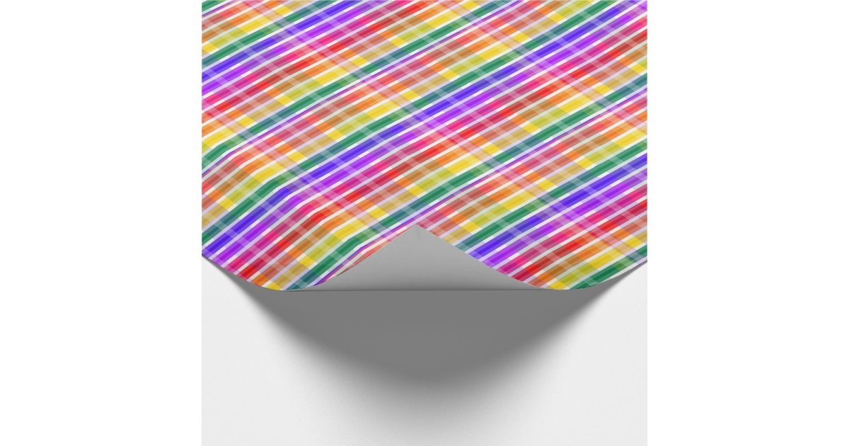 rainbow wrapping paper Welcome a new baby with this rainbow and cloud-covered kraft wrapping paper,  perfect for baby shower presents this heavy-weight gift wrap doesn't tear.