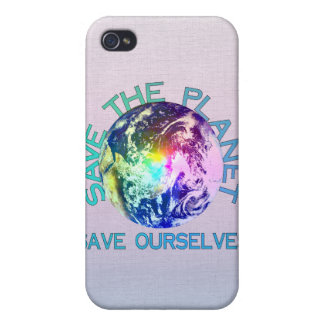 Rainbow Planet iPhone 4 Covers