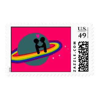 Rainbow Planet Postage