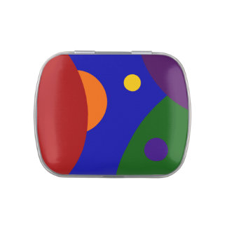 Rainbow Planets Candy Tins