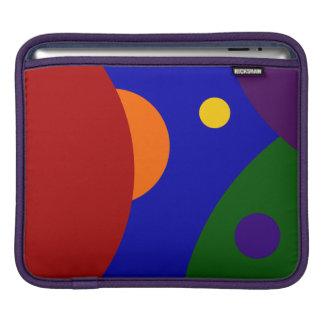 Rainbow Planets iPad Sleeve