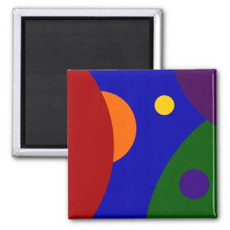 Rainbow Planets Magnet