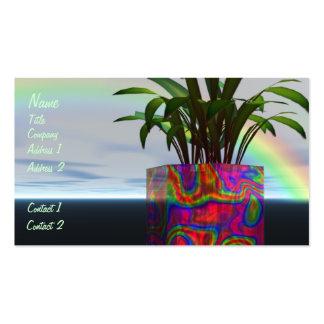 Rainbow Plant Business Card