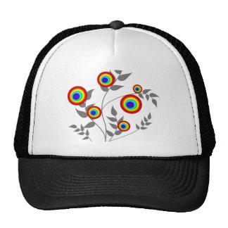 Rainbow Plant Cap Hats