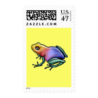 Rainbow Poison Dart Frog Postage