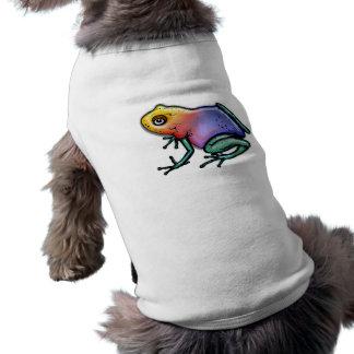 Rainbow Poison Dart Frog Shirt