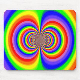 Rainbow Polar Inversion Mouse Pad