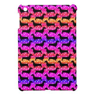 Rainbow Polka Dachshunds Case For The iPad Mini