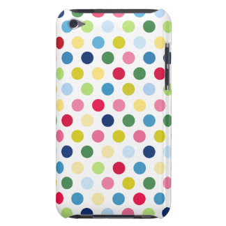 Rainbow polka dots iPod touch cover