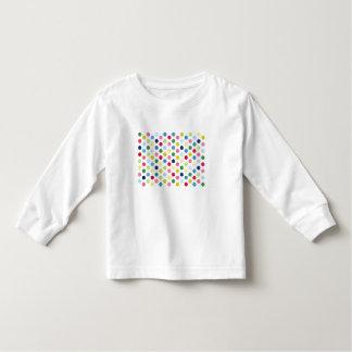 Rainbow polka dots t-shirts