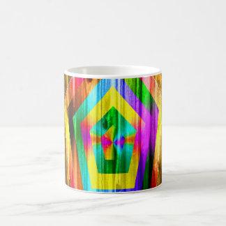 Rainbow Polygon Classic White Coffee Mug