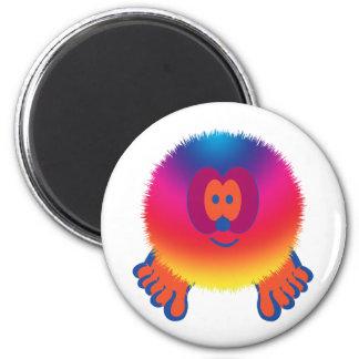 Rainbow Pom Pom Pal Magnet