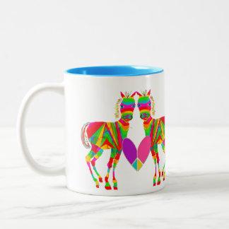 Rainbow Ponies Mug